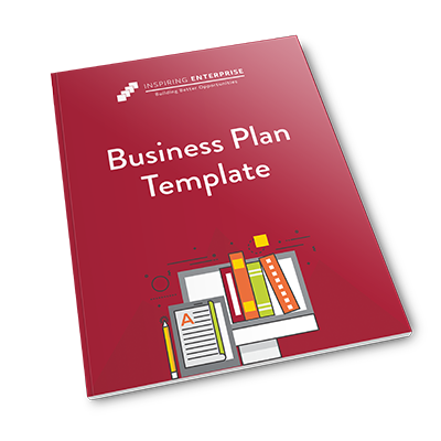 Business plan template book cover
