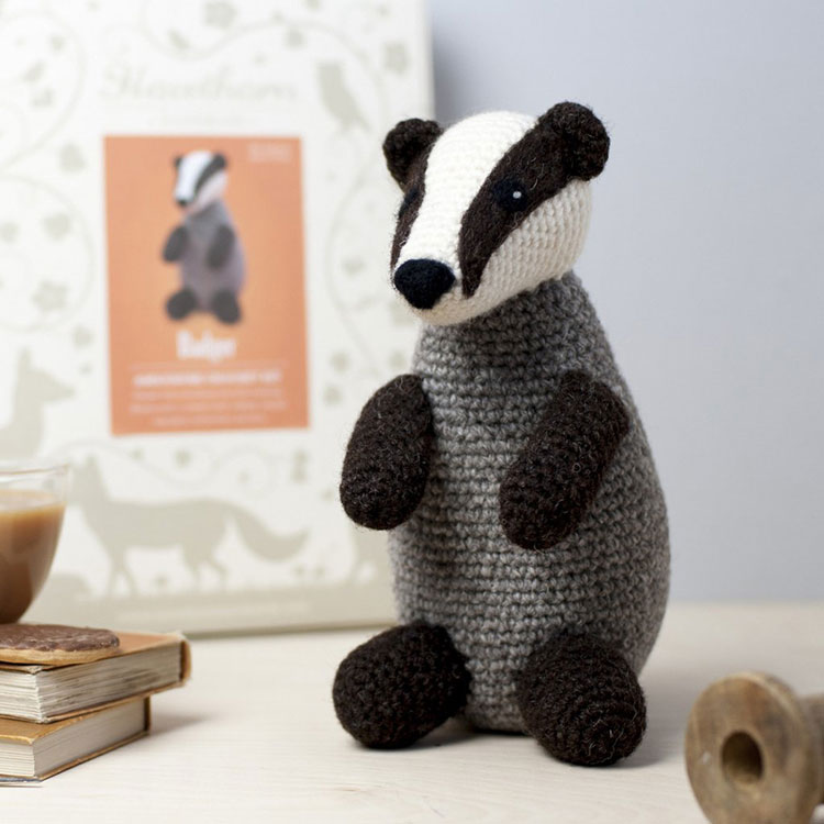 stephanie hawthorne handmade badger
